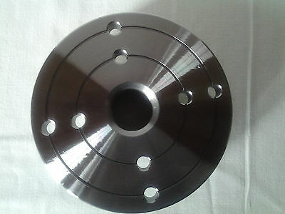 """4"""" Face Plate  Jet, Delta, Any Wood Lathe w/1 X 8TPI faceplate"""