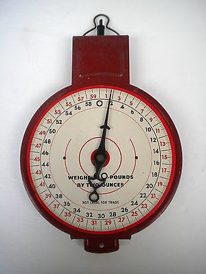 Vintage Metal American Family Type 60 lb Scale for Parts or Repair - No Basket