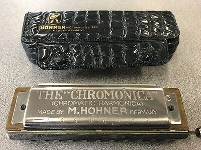Vintage M. Hohner Chromonica 260 Key of C