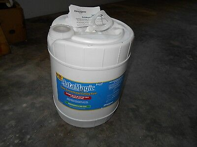 Hougen RotaMagic SUPER CONCENTRATED Cutting Fluid - 5 Gallons (11743), NEW