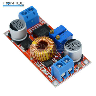 5A DC5V-32V to 0.8V-30V Lithium Charger Step down Power Supply Module Drive