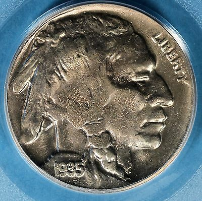 1935-D Buffalo Nickel PCGS MS65- Exceptional Luster, Eye Apeal