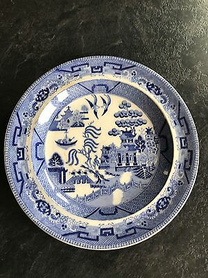 """china- Blue willow 10"""" plate"""