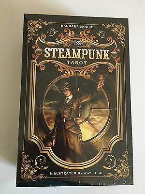 Brand New Steampunk Tarot Card And Book Set