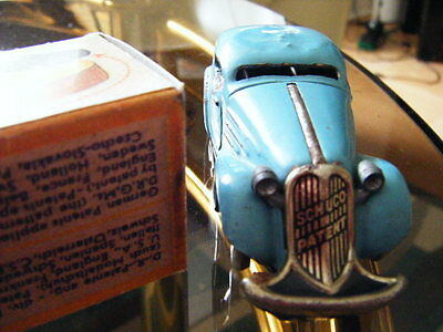 schuco patent  tinplate  Car. Pre WW2 . Vintage toy  with a box.