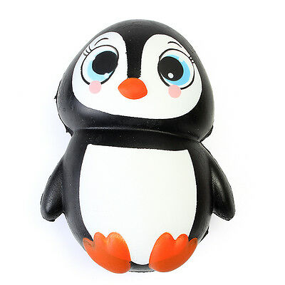 Squishy Penguin Jumbo 13cm Slow Rising Soft Kawaii Cute Collection Gift Decor To