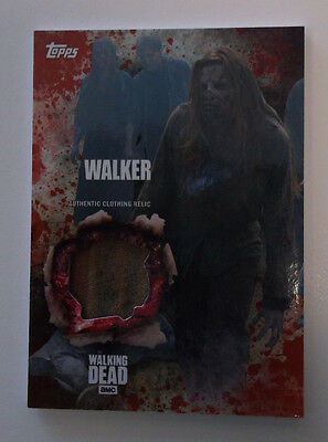 2016 Topps Walking Dead Season 5 Relic Walker Clothing Relic Card True #1/1