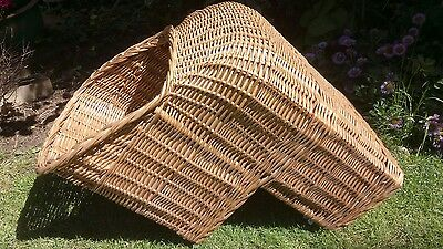 wicker basket vintage child's cycle seat continental