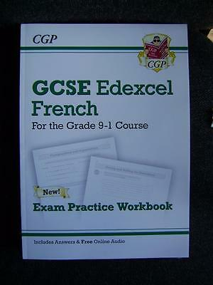 CGP GCSE French Edexcel Exam Practice Workbook - for the Grade 9-1 Course  - NEW
