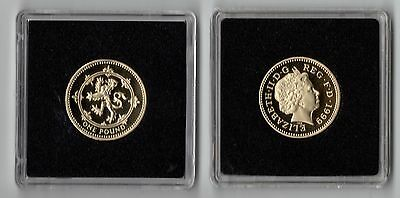1999 Royal Mint SCOTTISH LION RAMPANT Proof One Pound £1 Coin - from proof set