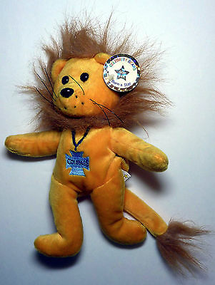Cowardly Lion Retired Wizard of Oz Celebrity Bear with Tag