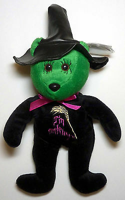 Wicked Witch Retired Wizard of Oz Celebrity Bear with Tag