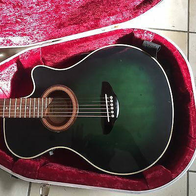 Yamaha APX 6A Semi Acoustic Guitar with hard case