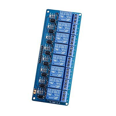Elegoo 8 Channel DC 5V Relay Module with Optocoupler for Arduino UNO R3 MEGA...