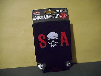 The Sons of Anarchy S Skull A Logo, SOA Beer Huggie Can Cooler/Koozie
