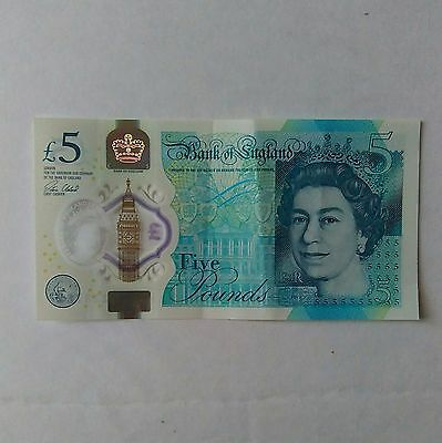 New £5 Five Pound Churchill Note Rare BA Serial Number Circulated