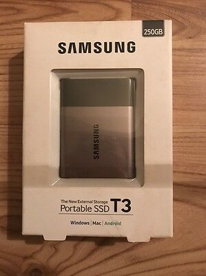 Samsung Portable SSD T3 250GB (up 450MB/s) USB 3.1 External Solid State Drive MP