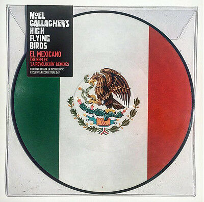 "Noel Gallagher's High Flying Birds El Mexicano Reflex New 12"" PICTURE DISC Vinyl"