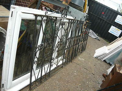 pair of wrought iron gates used