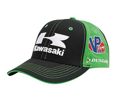 New Authentic Kawasaki Racing Team Snapback Hat 2017 (LIMITED EDITION)