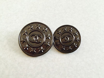 Authentic Chanel Buttons Lot 2 pieces for Jacket/Top