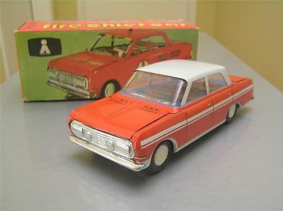 Tin Friction Opel Rekord made by Plasticart in East Germany rare NMIB