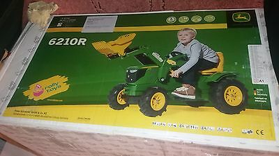 Farmtractor Ride On John Deere  Pedal Tractor 6210R (Ch)