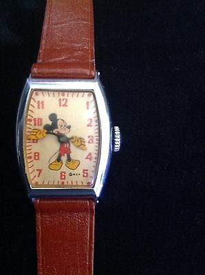 Mickey Mouse vintage 1940'sUS Time Watch