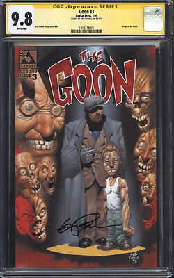 GOON (1999 1st Series, Avatar Press) #3 CGC 9.8 SS / Signed by Eric Powell!