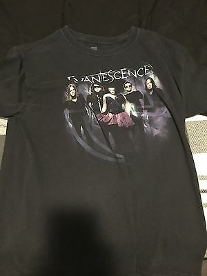 Evanescence Amy Lee Men's Unisex Medium 2011 Hot Topic Group T shirt