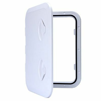 WHITE ACCESS HATCH & LID 315 x 440mm - Marine/Boat/Caravan/RV/ Local shipping