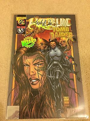 Witchblade/tomb Raider Comic  Signed Michael Turner