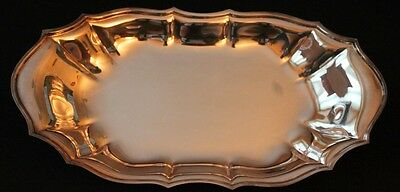 "Chippendale Silver Tray #6319 - 12"" x 6.25"""