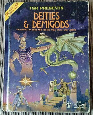 Vintage AD&D Deities and Demigods w/Cthulhu 144 pages, !! TRUE FIRST PRINT !!