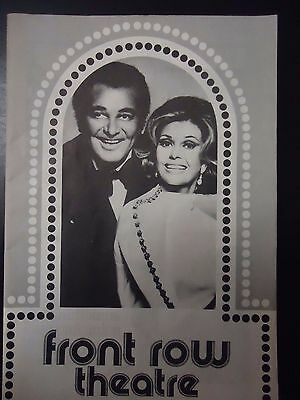1977 Tony Martin & Cyd Charisse/Les Folies Bergere at Front Row Theater Playbill