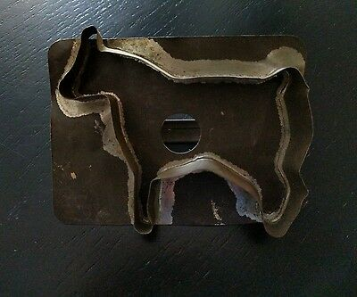 Primitive Folk Art Handle Cookie Cutter ~ Horse