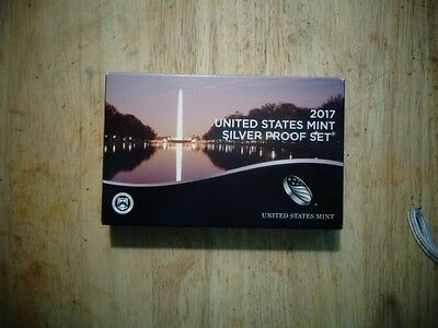 2017 Silver Proof Set In Mint Package