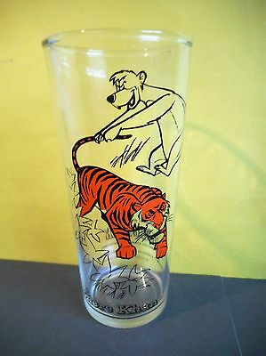 Walt Disney Productions,The Jungle Book,1966 Shere Khan Tiger Drinking Glass