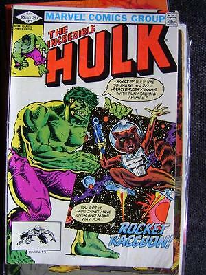 Incredible Hulk vol 1 no 271 (May 1982) - Very Good cond - 1st Rocket Raccoon