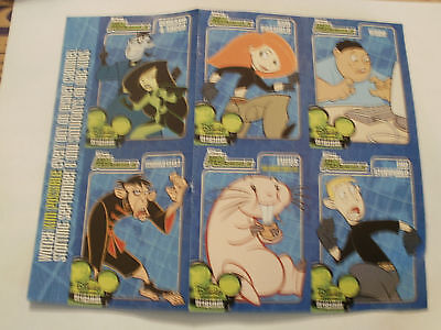 Kim Possible Character Cards
