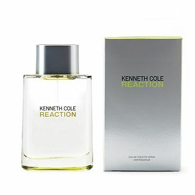 Kenneth Cole Reaction Perfume for men  3.4oz 100ml EDT New Sealed BOX