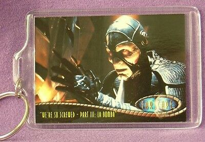 FARSCAPE Wayne PYGRAM as SCORPIUS Keychain NEW