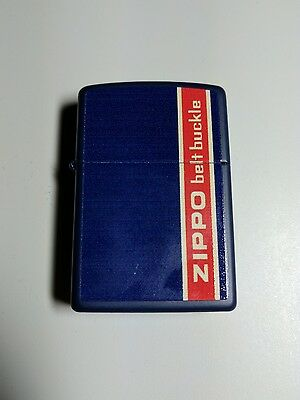 Zippo Box Top Design : Belt Buckle | Limited to 30 pieces!