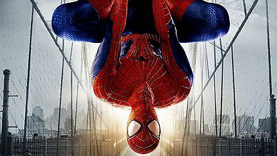"""12""""x22""""Spider man Paintings HD Prints on Canvas Home Decor Wall Art Pictures"""