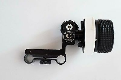 Chrosziel Follow Focus  206-01S with Gear Drive and Scale for DSLR Cameras