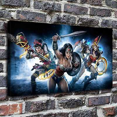 Wonder woman Paintings HD Print on Canvas Home Decor Wall Art Pictures posters