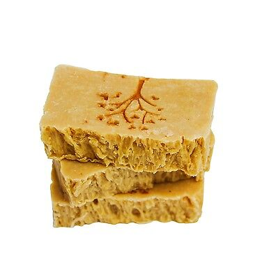 3 X 100gm Bars of Natural Baby Soap Carrot & Buttermilk Pure Olive Oil Castile
