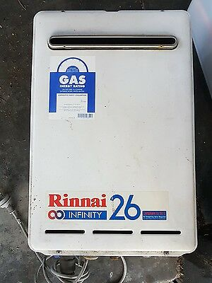 Rinnai Infinity 26 Natural Gas 50 Degree Preset Instant