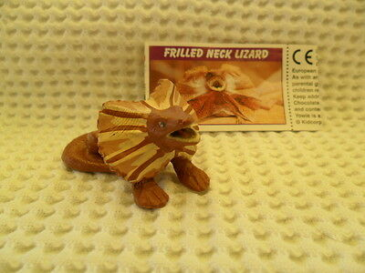 Yowies UK YOWIES SERIES 1, * FRILLED NECK LIZARD + PAPERS