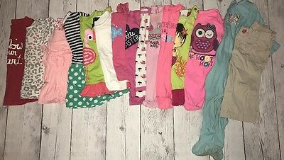 Baby Girls 6-9 Months 15 Pcs Spring Summer Winter Mixed Clothing Lot